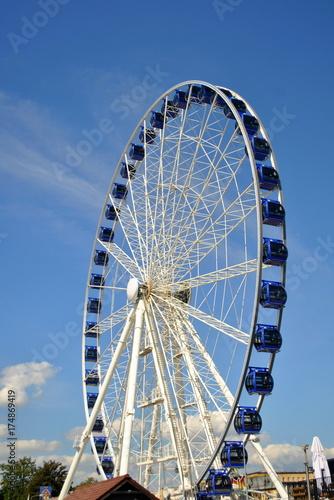 Deurstickers Amusementspark Karuzela