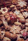 christmas cake gingerbread - 174871056