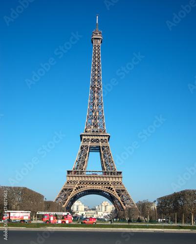 Deurstickers Eiffeltoren Eiffelturm in Paris