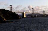 San Francisco Bay Bridge Heading Into The City