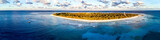 Aerial view of Lady Elliot Island in Queensland Australia - 174911067