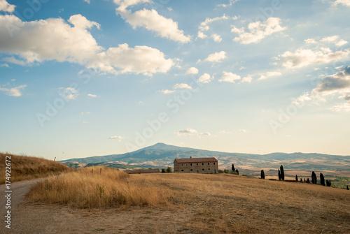Keuken foto achterwand Toscane Paesaggio toscano