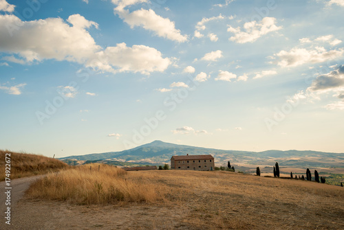 Spoed canvasdoek 2cm dik Toscane Paesaggio toscano