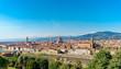 Quadro Florence panorama city skyline Tuscany Italy