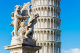 Leaning Tower of Pisa in Tuscany - 174925834