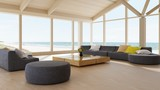 Modern luxury living room interior - 174940477