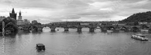 Foto op Plexiglas Praag Prague panorama