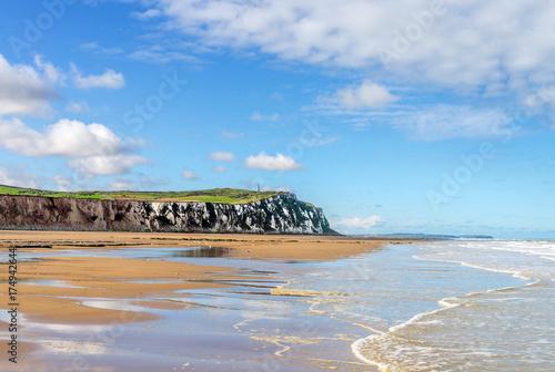 Aluminium Blauwe hemel Cap blanc-nez sur la côte d'opale