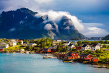 Lofoten is an archipelago in the county of Nordland, Norway. - 174944090
