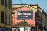 Schild 215 - Gartenbau - 174946842