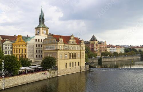 Deurstickers Praag Prag