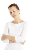 Confident young woman portrait - 174971801