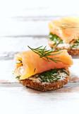 Salmon Snack - 174979238