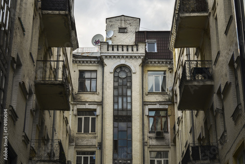 old multi-storey house © Oleksandr