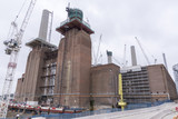 Construction at Battersea power station