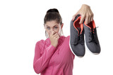 smelly work oit shoes - 174993636