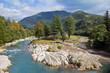 Quadro Mountain river in Georgia