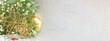 Star shaped ornaments on shiny background