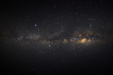 Starry night sky, milky way galaxy with stars and space dust in the universe - 175009029