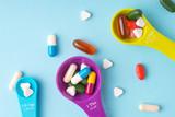 Medicine, tablet, vitamin and drug in various shape - 175013851