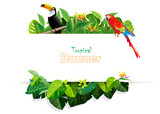 Tropical banner backgrounds - 175014682
