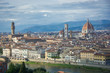 Looking out over the lovely Florence skyline.