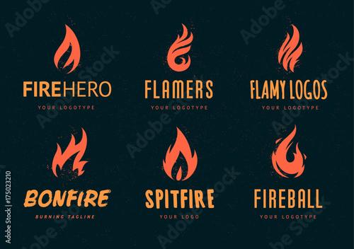 Vector Fire Logos - 175023210