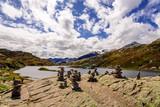 Teich San Bernardino Pass Gebirgspass Graubündigen - 175027259