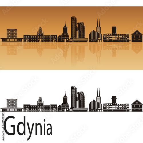 mata magnetyczna Gdynia skyline