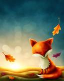 Little red fox - 175032686