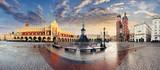 Krakow Market Square, Poland - panorama - 175033651