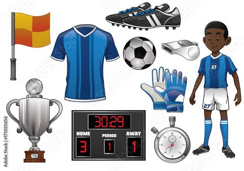 soccer object set