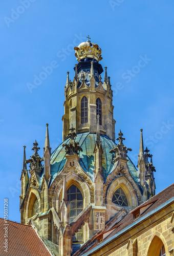 Foto op Plexiglas Bedehuis Church in Abbey of Kladruby, Czech republic