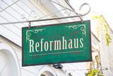 Schild 266 - Reformhaus - 175037497