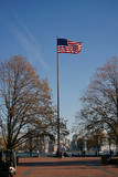 American Flag in New York City USA