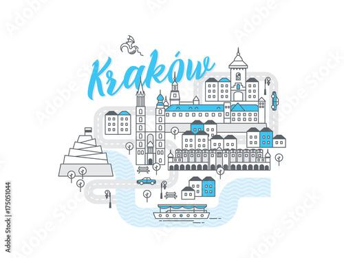 Fototapeta Miasto Kraków