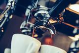 Barista preparing espresso at coffee shop - 175065215