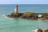 Lighthouse Phare du Petit Minou near Plouzane, Finistere, Brittany, France - 175081647
