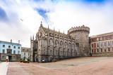 Street view of Dublin city centre