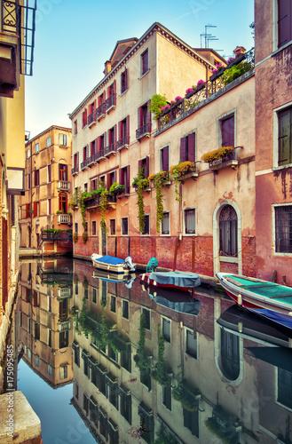 Staande foto Venetie Street in Venice, Italy