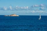 Veduta panoramica dello Scoglietto presso isola d'Elba - 175099659