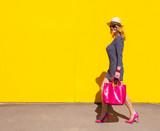 High fashion woman walking - 175102640