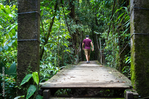 Canvas Rio de Janeiro Hiking in Costa Rica