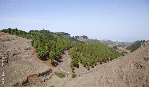 Papiers peints Iles Canaries Gran Canaria, dry hills
