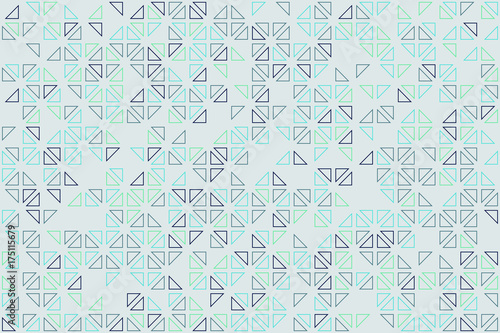 geometric pattern design  - 175115679