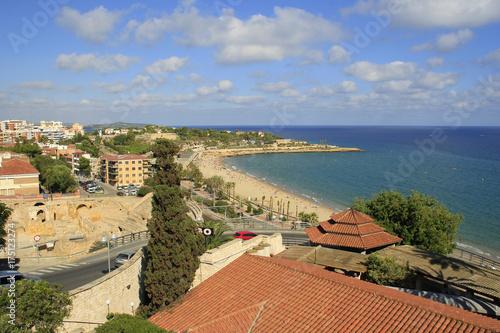 Tuinposter Nice Mar mediterraneo em Tarragona