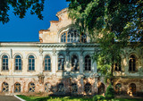 Beautiful abandoned former Philip Vigel's mansion in Voronezh at summer day - 175126481