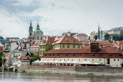 Staande foto Praag Prague Czech Republic City of a Thousand Spires and Red Roofs