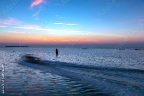 Keuken foto achterwand Zee zonsondergang Venezia