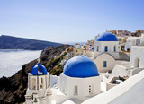 beautiful views of the island of Santorini - 175142840
